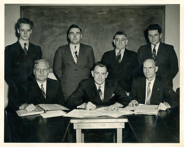 Howard Hammerand (front row, center) with other members of the Bilt-Well Credit Union Board.